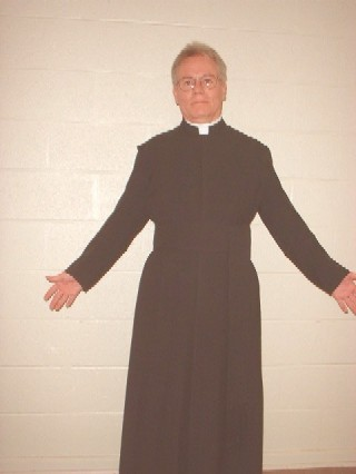 Picture of me wearing a cassock